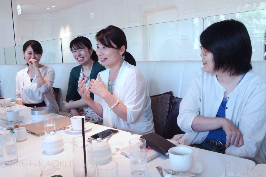 桜井希和子さん お茶会 幸せ系