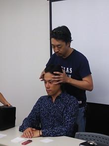 いっしーさん 石川元紀さん 施術
