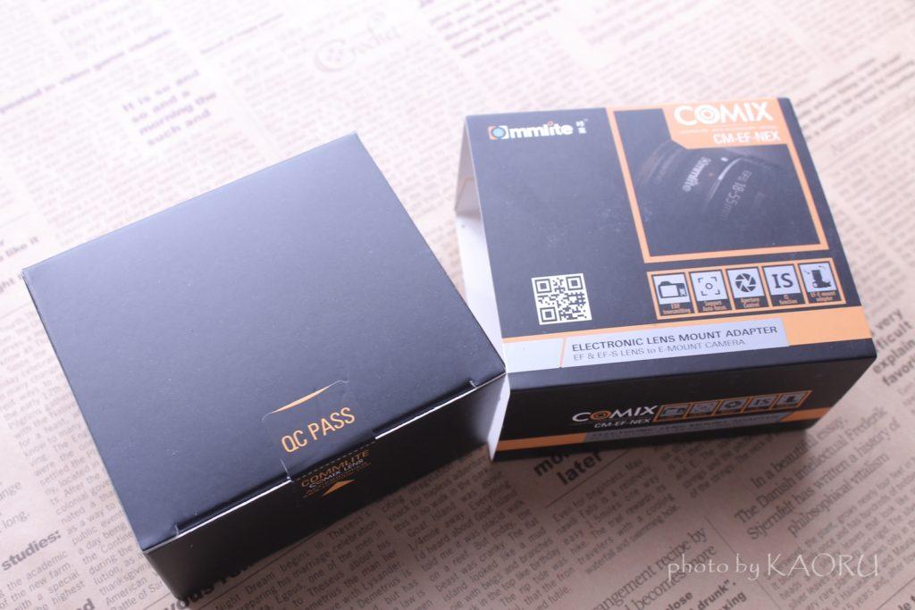 マウントアダプター Commlite CM-EF-NEX