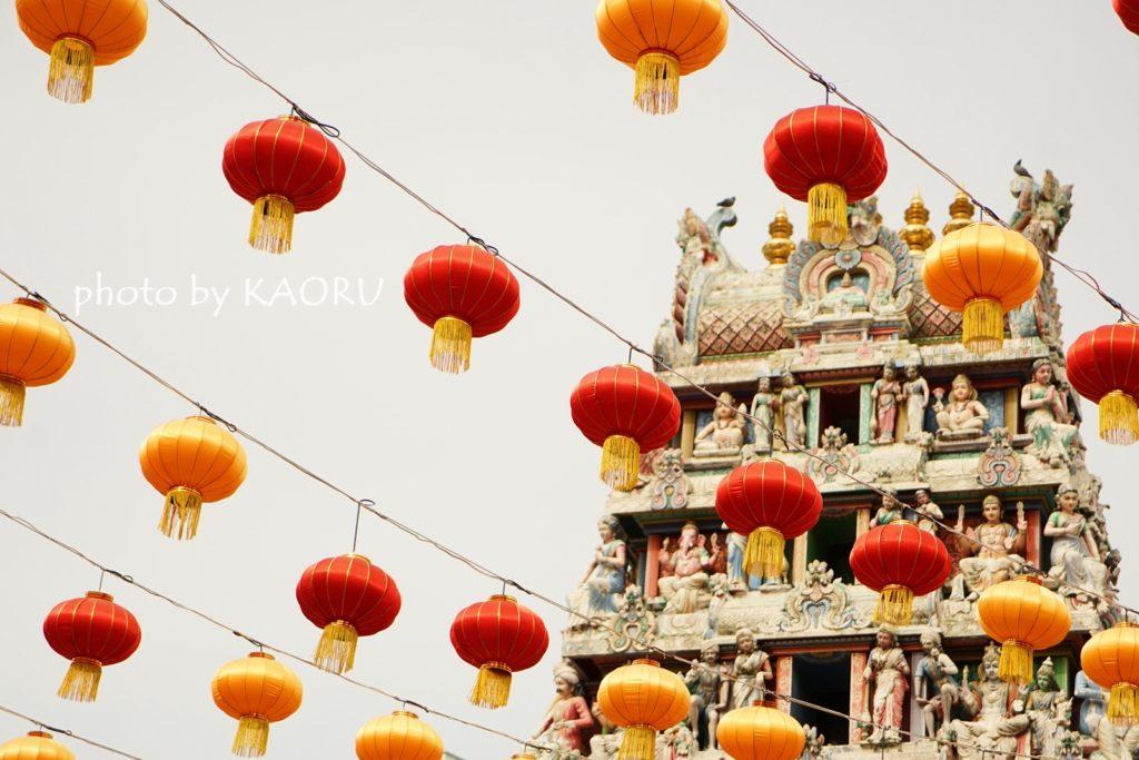 シンガポール スリマリアマン寺院
