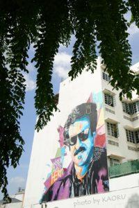 シンガポール ストリートアート