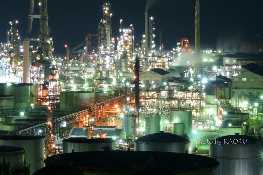 工場夜景 和歌山