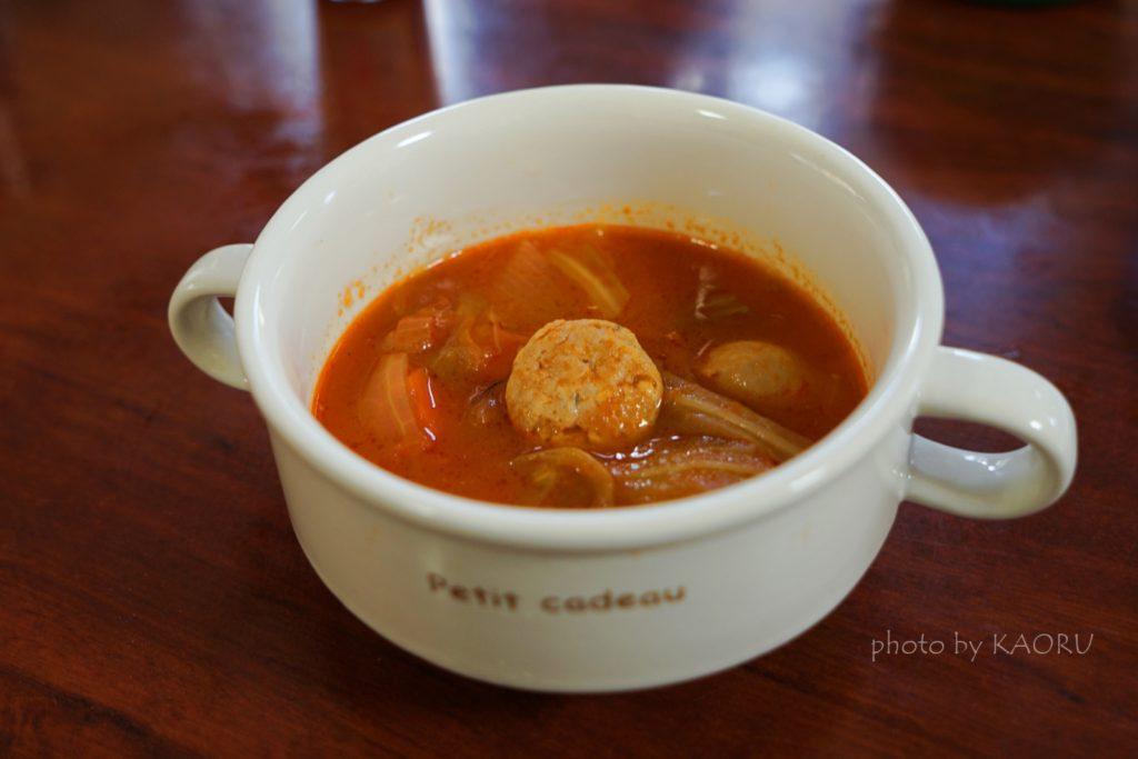 コストコ 生ソーセージ スープ