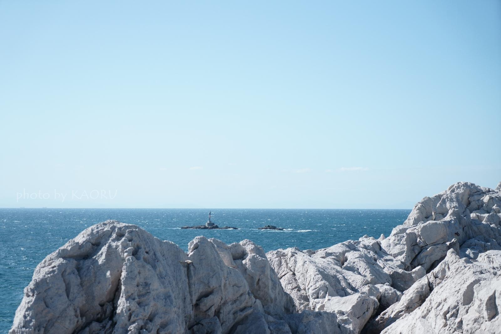 白崎海洋公園 エーゲ海 石灰岩