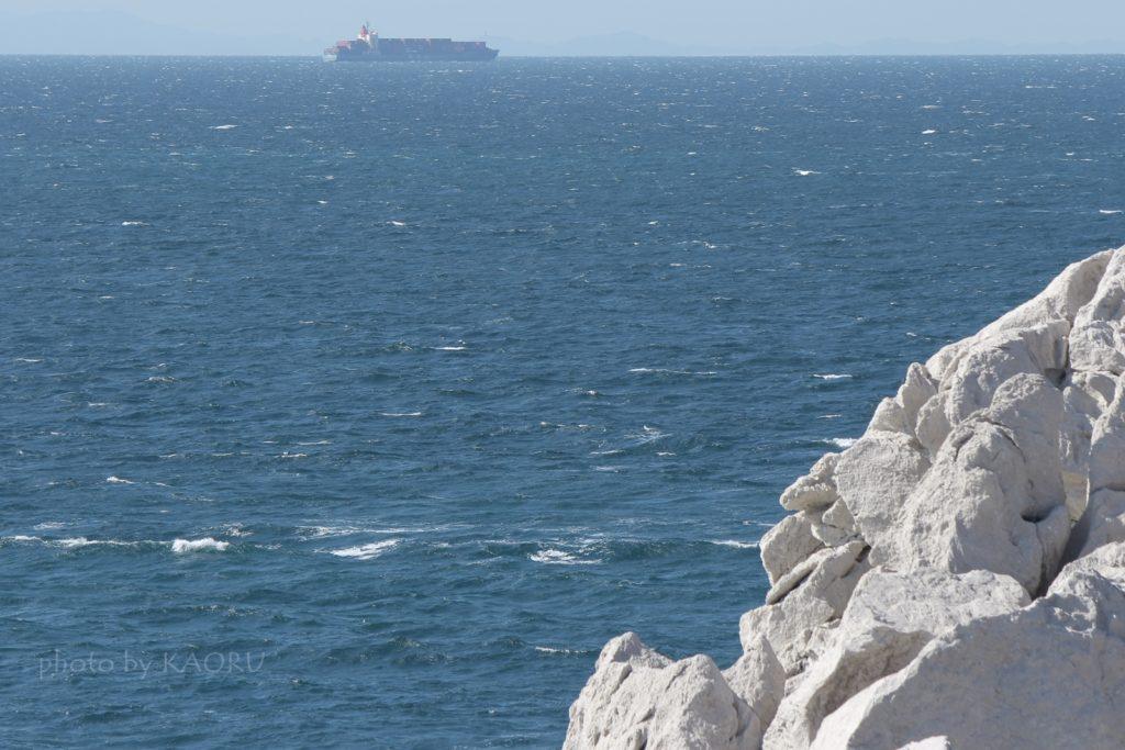 白崎海洋公園 船
