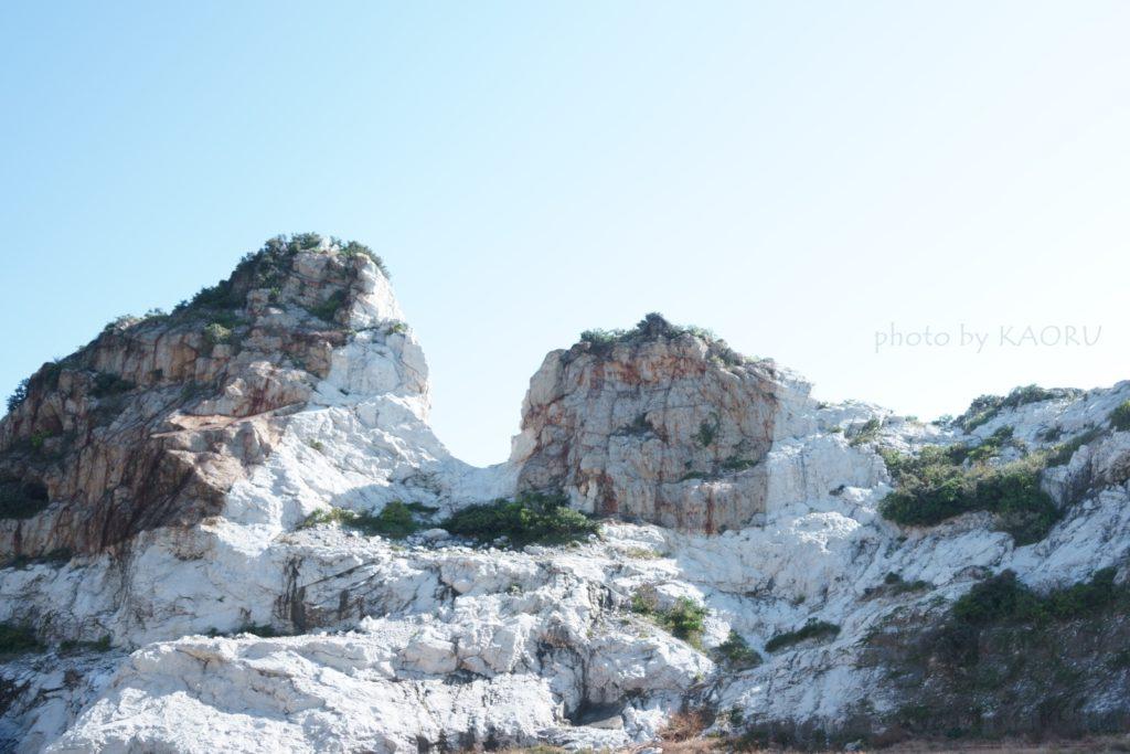 白崎海洋公園 石灰岩