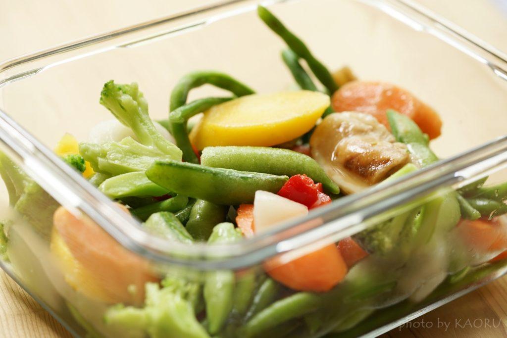 冷凍野菜 食べ方