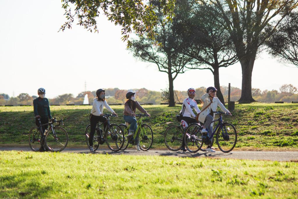 渡良瀬遊水地 サイクリング