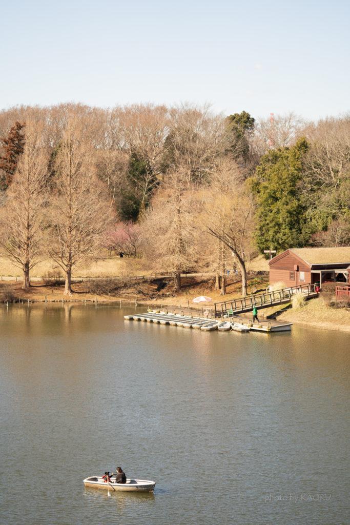 船橋アンデルセン公園 ボート