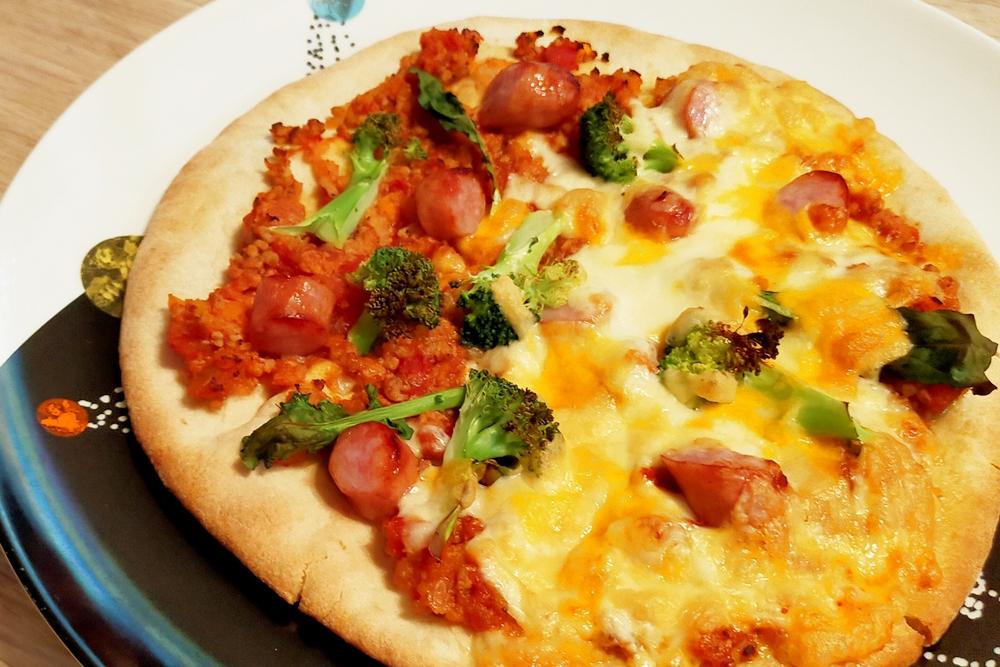 有機ピザクラスト実食