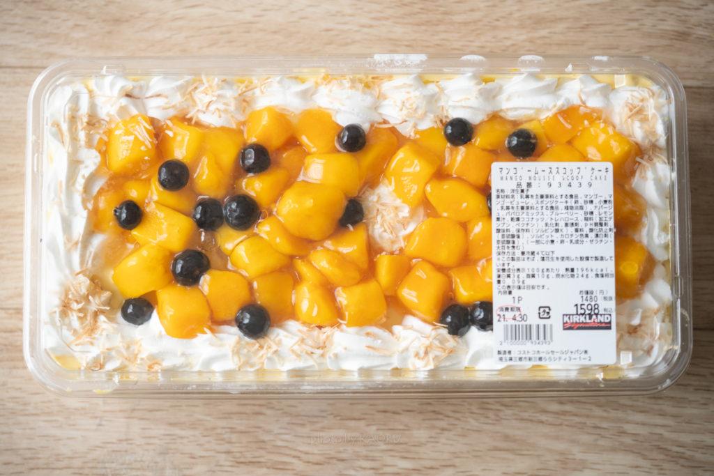 コストコ マンゴームーススコップケーキ