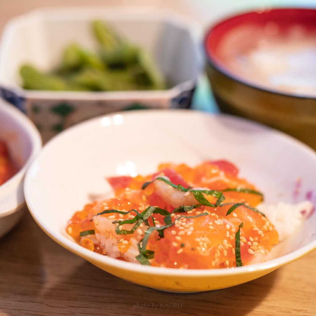 海鮮漬けちらし寿司 実食